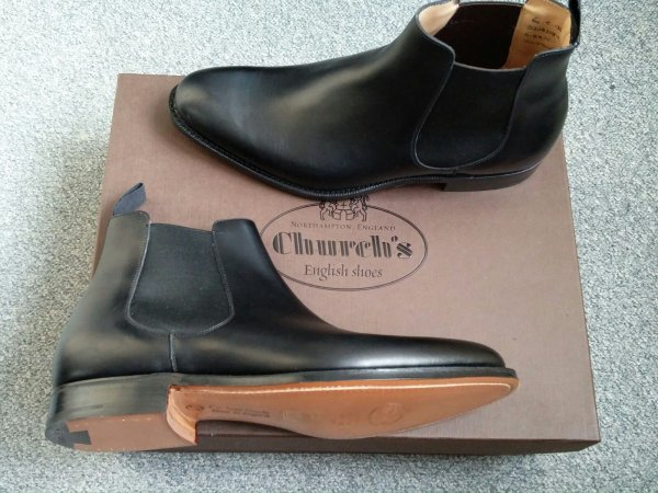 Houston Leather Chelsea Boots Churchs Buy Cheap Visit Big Discount Online Big Discount For Sale sAeiO