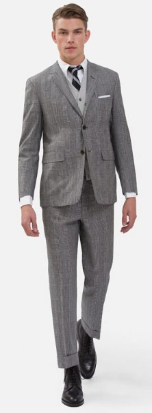 Vêtements, Accessoires Brooks Brothers Black Fleece Thom Browne Blue Pinstripe Suit 38 R Eur 48 Bb1 Bb2 Cheapest Price From Our Site