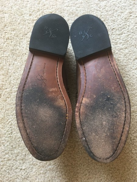 a9b69f71eb2 Rancourt Beefroll Penny Loafers