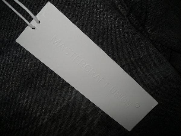 28f07d44 Mastercraft Union M64D01 Relaxed Taper Jeans in Grey, 28 x 32, BNWT ...