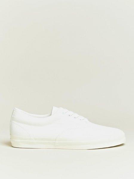 Comme des Garçons Homme Beige Canvas Sneakers 1tTCOW1rmM