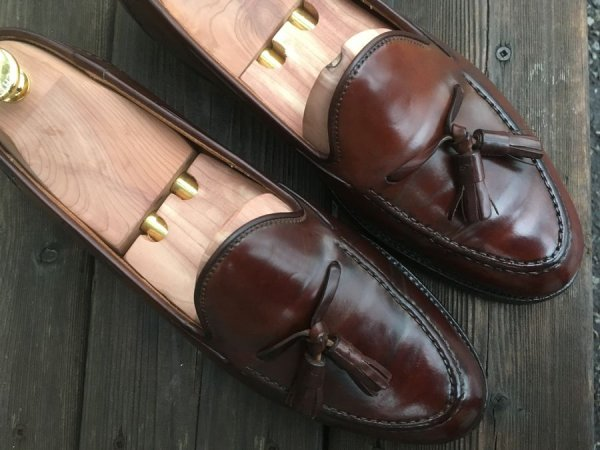 425e469ec Ralph Lauren Marlow Shell Cordovan Tassel Loafers (C&J) 8.5D ...