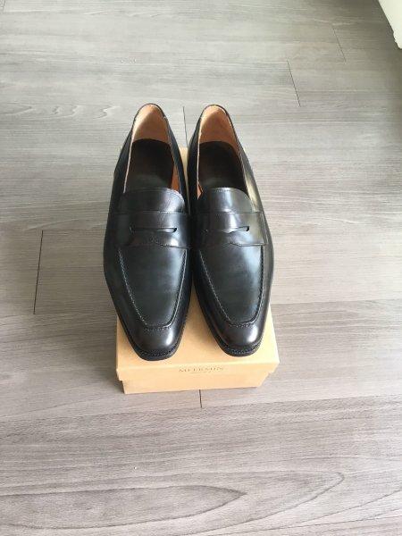 feb88c1d9e8 Meermin Black Penny Loafers