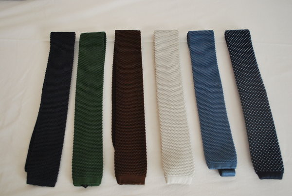 Knitted silk ties.JPG