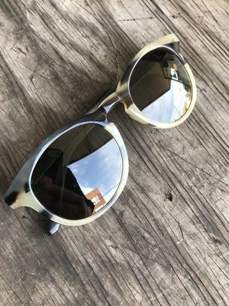 foto de Price Drop: Kent Wang Keyhole Sunglasses in dark horn | Styleforum