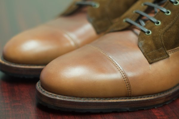 Allen Edmonds Natty Shell Cordovan and Suede Eagle County - 5.jpg