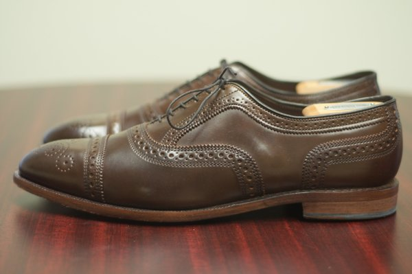 Allen Edmonds Brown Shell Cordovan Strands - 2.jpg