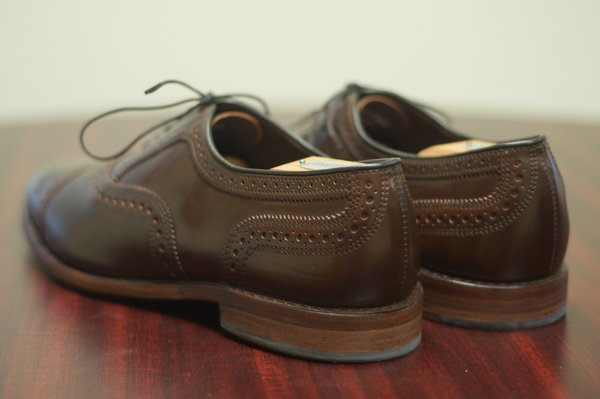 Allen Edmonds Brown Shell Cordovan Strands - 3.jpg
