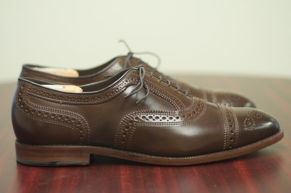 Allen Edmonds Brown Shell Cordovan Strands - 5.jpg