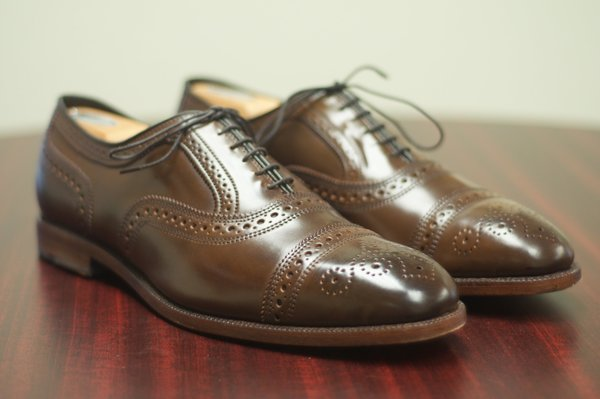Allen Edmonds Brown Shell Cordovan Strands - 6.jpg