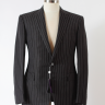 SOLD - New RLPL pinstripe linen suit US 40R €850  RRP€2,495