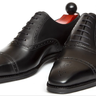 J FitzPatrick Windermere Black Oxfords 10UK