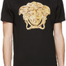 BLACK VERSACE MEDUSA HEAD STATEMENT T-SHIRT 4XL
