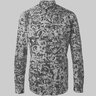 CARVEN Blue Scribble-Print Poplin Shirt 40/M