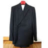 Tunrbull and Asser dark navy pinstripe DB suit, fits 36/38