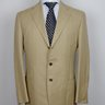 SOLD! NWT CESARE ATTOLINI ENTIRELY HANDMADE LINEN-COTTON BLEND SUIT US42 40/EU52