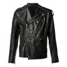 SOLD❗️JULIUS Black Perfecto Biker Leather Jacket 2/S-M