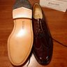 "SOLD! NIB ALDEN FOR ""CHURCHILL"" CALF LEATHER LONGWING BLUCHERS BURGUNDY 7D"