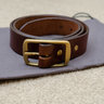 Tanner Goods Standard Belt, Cognac, Triple Bar Buckle, Size 36
