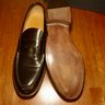 NIB REGAIN DARK BROWN CALF LEATHER MARLOW LOAFER UK11/US12