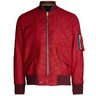 PAUL SMITH Red Check Heavy Wool Bomber Jacket M