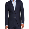 NWT TOM FORD O'CONNOR SOLID NAVY SUIT 42R HANDMADE IN ITALY