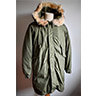 US Army Fishtail Parka M-1951 OG-107