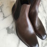 New Gaziano and Girling Burnham Wholecut boots Size 10.5F UK Vintage Oak SOLD