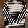 Saint James Nautical Long Sleeve Striped Tee - XS