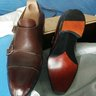 Bespoke Roberto Ugolini double monks in size US 6 UK 5-5.5, Excellent condition