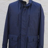 Sold NEW RARE Loro Piana Castorino Beaver Nutria Fur Navy Jacket Coat Small S $9,200