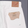 (SOLD) OrSlow 07 Ivy League White Slim Jean Size 3 M 32-33 - NWT