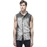 AVANT TOI Malfile Cotton Sleeveless Hoodie Hooded Cardigan Grey Ombre M