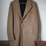 SOLD | Eidos Napoli Palermo Camel Coat 50% Wool 50% Alpaca 48R IT (38R US)