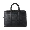 SOLD❗️PAUL SMITH No.9 Embossed Leather Slim Briefcase Business Bag Handbag Black