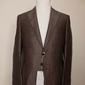 CANALI brown linen silk mix sportcoat - Size 38 US / 48 EU - NWT