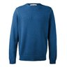 MARNI Contrast-Tipped Cashmere Sweater Blue IT48/M-L