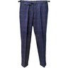 INCOTEX Slim-Fit Pleated Basketweave Checked Wool Pants IT50/32-34