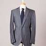 Quick Sale: $1995 Boglioli for Santa Eulalia Wool and Silk Suit Flat Front Pants 38-40R