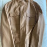 LORO PIANA FIELD STYLE LEATHER JACKET - XL