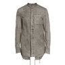 MASNADA Band-Collar Fishtail Shirt Jacket Overshirt IT50/M-L