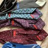 Lot of superb ties-Polo, Drakes and Isaia 7 Fold Tie Lot!!! Wool, silk