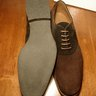 BNIB Zonkey Boot Chocolate Brown Suede Derby Shoes UK8/US9