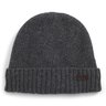 "NWT Barbour ""Carlton"" Grey Wool Blend Beanie Retail $49"