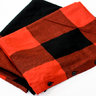 Engineered Garments Button Shawl Red/Black Plaid BNWT; Woolrich cloth