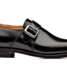 NEW Church's Black Westbury Monk Strap UK 6 / US 7 BRAND NEW