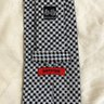 "Classic Battistoni 3.5"" Tie Shepherd Check Plaid"