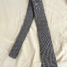 BROOKS BROTHERS BLACK FLEECE GREY BIRDSEYE TIE