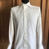 Sold Tom Ford Solid White 100% Cotton Dress Shirt 40