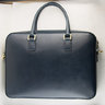 NWOT LINJER NAVY LAPTOP BAG - VEGETABLE TANNED LEATHER